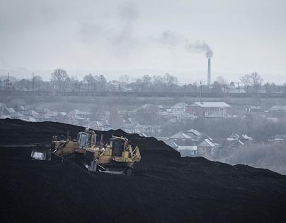 Russia Kemerovo Mines