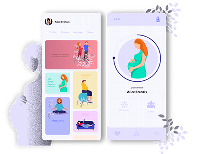 Poobs - Networking platform for pregnant women's