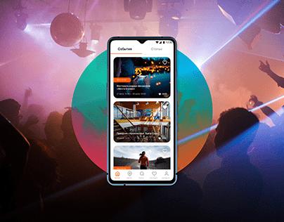 KtoKyda App   Aggregator of events