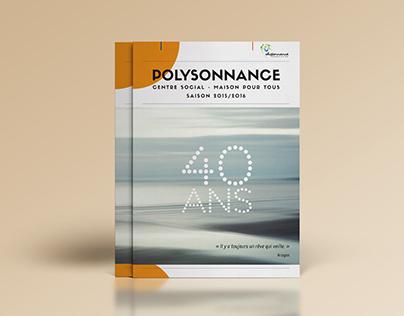 "Brochure ""Polysonnance"" - saison 2015 / 2016"