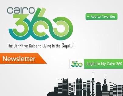Cairo360.com redesign