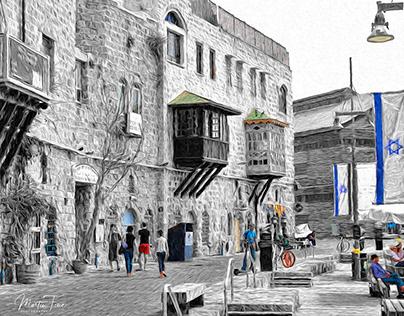 A WALK THROUGH OLD CITY JAFFO, ISRAEL