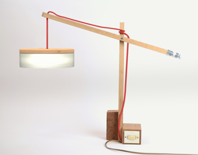 HANDCRAFTING - rainy sunday lamp