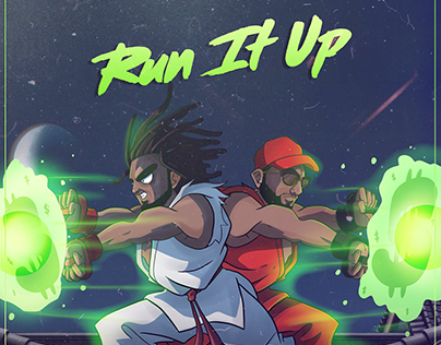 RUN IT UP | Album Cover