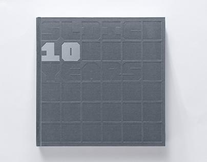 《森磊十年》 SLDIC10 Yreas– 企业画册 Album Design
