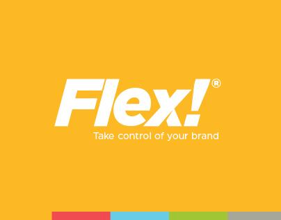FLEX!® // Take control of your brand