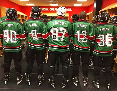 2018 - 2019 Kenya Ice Hockey Jersey Concepts