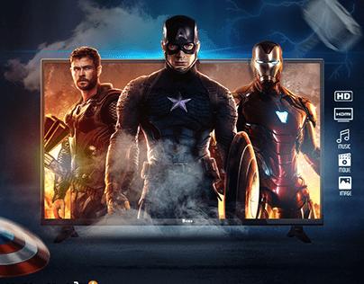 Avengers Social Media