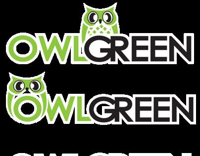 Owl Green [ Logo Design ]