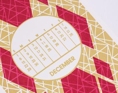 Rock Paper Pigeon, 2013 Playing Card Calendar