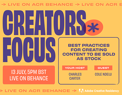 ACR – Creators Focus with Charles Carter & Cole Ndelu
