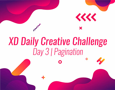 Creative Challenge XD | Day3 Pagination