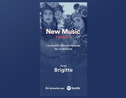 Spotify NMF