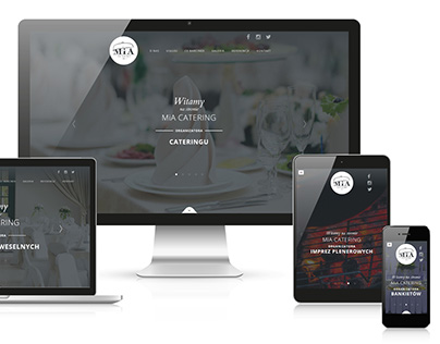 MiA Catering website