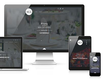 MiA Catering website