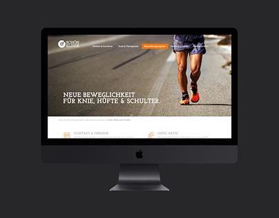 SCHOEN KLINIK Website Concept
