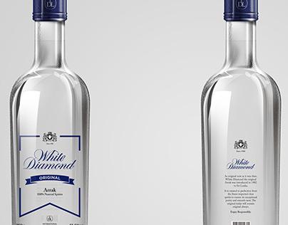 White Diamond Arrak - Rebranding