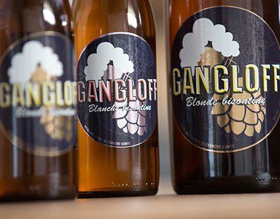 Visual identity / Gangloff french Brewery