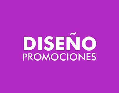 Promociones para web y redes sociales