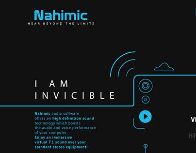 Nahimic // Refonte Graphique