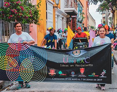 Caminata #FestiArtesUnibac