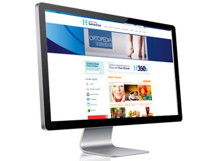 Portal de Saúde do Hospital Santa Cruz
