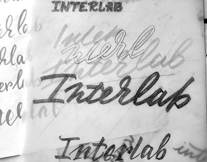 Interlab Lettering Logo