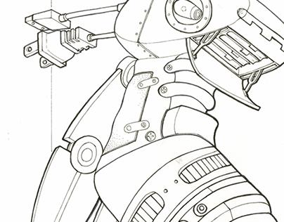 Ideation Sketching & Marker Renderings