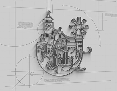 the folly // logo design