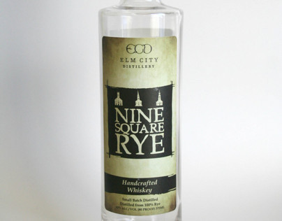 9 Square Rye Bottle Design