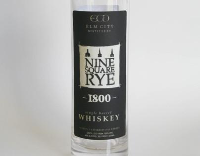 1800 Whiskey Bottle Design