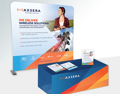 Trade show display & marketing collateral