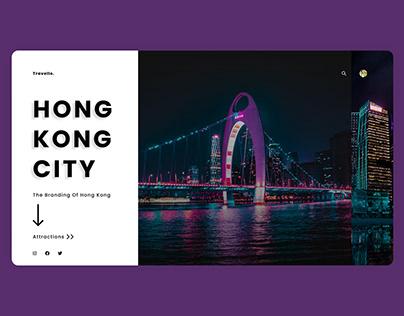 Hong Kong Destination Landing Page
