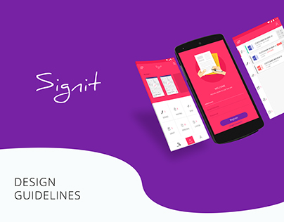 Sign It: Digital Signature Android App