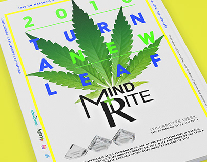 MINDRITE PDX 2018 Print Ad Campaign