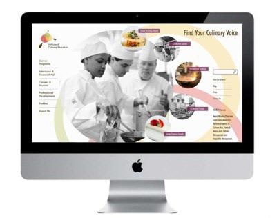 Visual Identity for Culinary School (Design fiction)