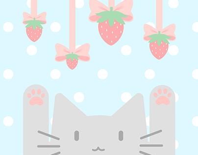 Strawberry Milk Kittea