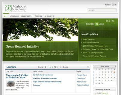 Methodist Sr Services Intranet