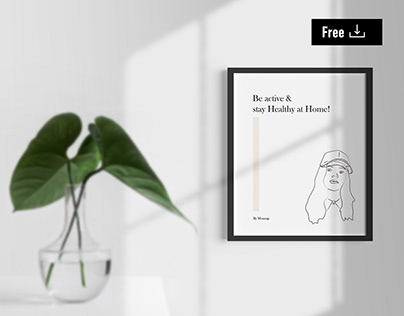 Free Frame Mockup Kit