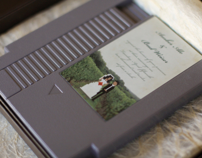 Custom Cartridge Wedding Invites