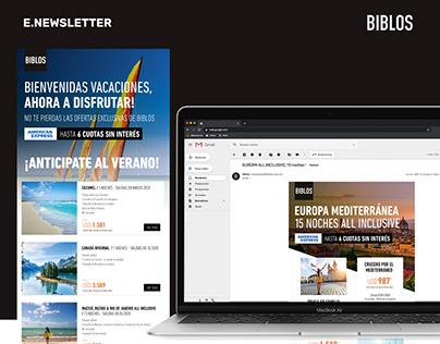 BIBLOS (Luxury Agency Travel) - E-Newsletter
