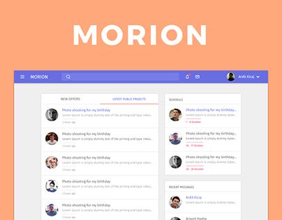 Morion - Photographer as a service