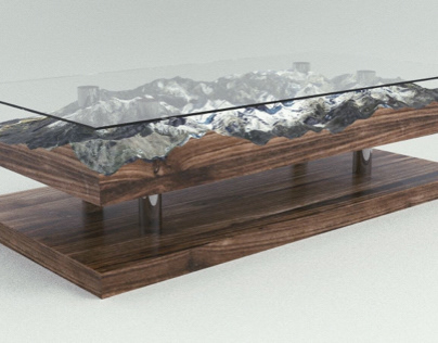 Everest XII - Living table