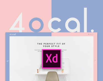 4ocal UI Kit for Adobe XD