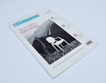 Diseño de Revista - Manifiesto