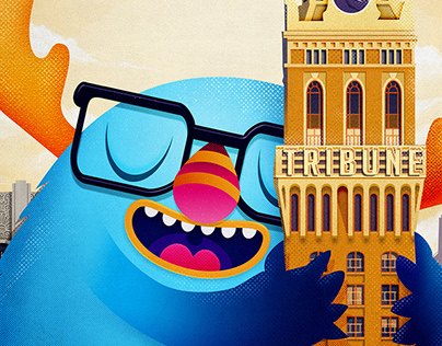 Oakland City - 99designs Poster