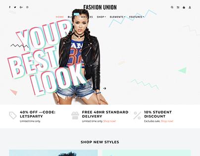 Fashion Union Concept