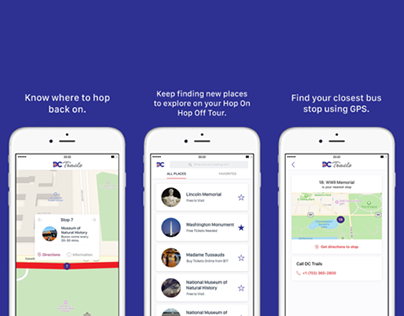 DC Trails Hop On Hop Off Tours iOS App