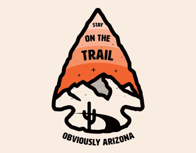 Stay on the Trail - Obviously Arizona