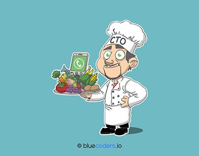 CTO dans le domaine de la cuisine - BLUECODERS